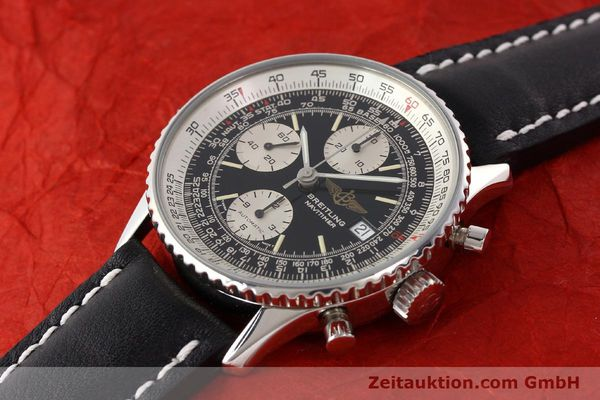 Used luxury watch Breitling Navitimer chronograph steel automatic Kal. B13 ETA 7750 Ref. A13019  | 141422 01