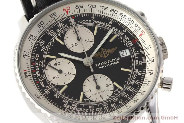 Used luxury watch Breitling Navitimer chronograph steel automatic Kal. B13 ETA 7750 Ref. A13019  | 141422 02