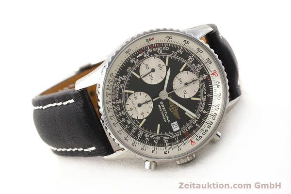 Used luxury watch Breitling Navitimer chronograph steel automatic Kal. B13 ETA 7750 Ref. A13019  | 141422 03