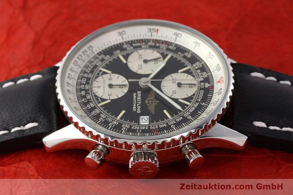 Used luxury watch Breitling Navitimer chronograph steel automatic Kal. B13 ETA 7750 Ref. A13019  | 141422 05