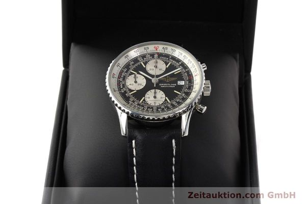 Used luxury watch Breitling Navitimer chronograph steel automatic Kal. B13 ETA 7750 Ref. A13019  | 141422 07