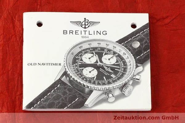 Used luxury watch Breitling Navitimer chronograph steel automatic Kal. B13 ETA 7750 Ref. A13019  | 141422 08