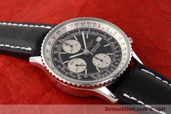 Used luxury watch Breitling Navitimer chronograph steel automatic Kal. B13 ETA 7750 Ref. A13019  | 141422 14