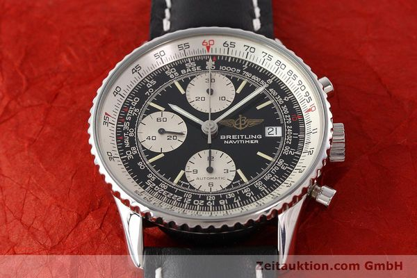 Used luxury watch Breitling Navitimer chronograph steel automatic Kal. B13 ETA 7750 Ref. A13019  | 141422 15