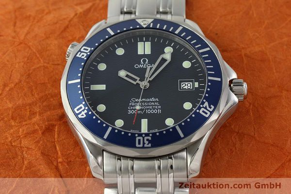 Used luxury watch Omega Seamaster steel automatic Kal. 1120  | 141423 16