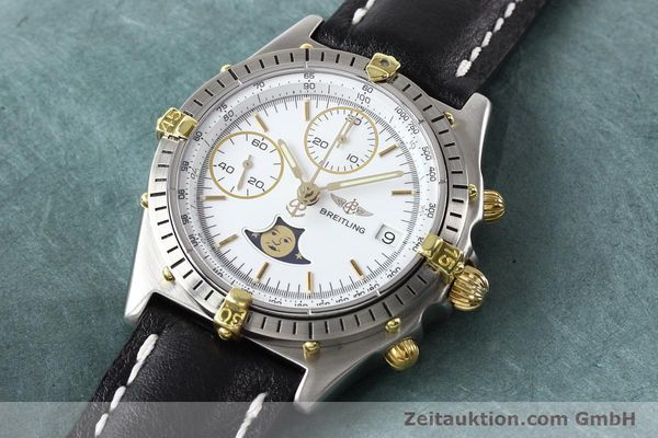 Used luxury watch Breitling Chronomat chronograph gilt steel automatic Kal. VAL 7750 Ref. 81.950  | 141424 01