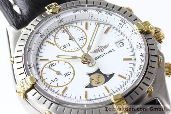 Used luxury watch Breitling Chronomat chronograph gilt steel automatic Kal. VAL 7750 Ref. 81.950  | 141424 02