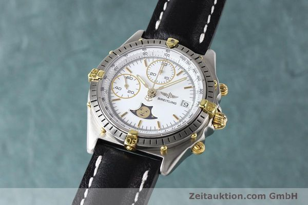 Used luxury watch Breitling Chronomat chronograph gilt steel automatic Kal. VAL 7750 Ref. 81.950  | 141424 04