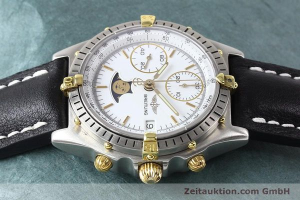 Used luxury watch Breitling Chronomat chronograph gilt steel automatic Kal. VAL 7750 Ref. 81.950  | 141424 05
