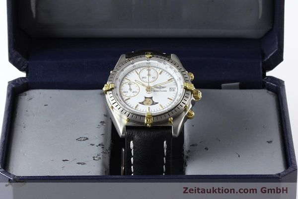 Used luxury watch Breitling Chronomat chronograph gilt steel automatic Kal. VAL 7750 Ref. 81.950  | 141424 07