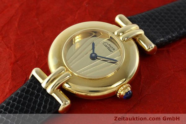 Used luxury watch Cartier Vermeil silver-gilt quartz Kal. 90  | 141425 01