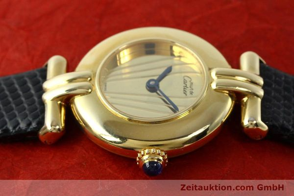 Used luxury watch Cartier Vermeil silver-gilt quartz Kal. 90  | 141425 05