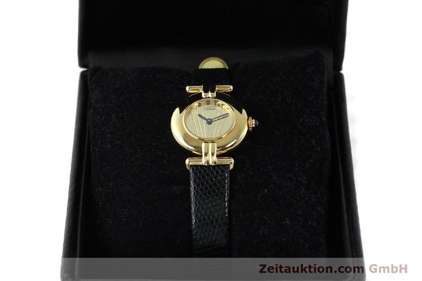 Used luxury watch Cartier Vermeil silver-gilt quartz Kal. 90  | 141425 07