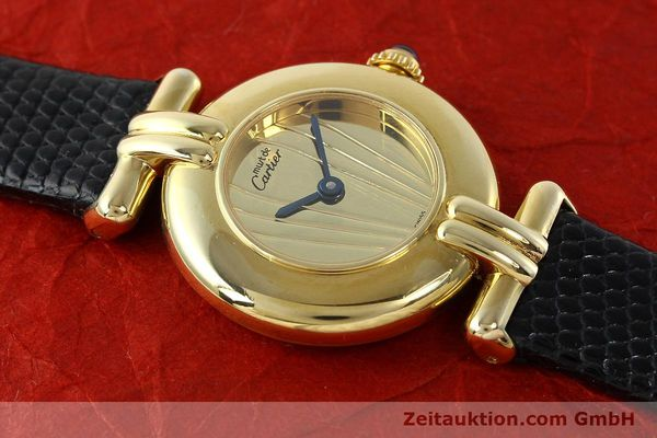 Used luxury watch Cartier Vermeil silver-gilt quartz Kal. 90  | 141425 10