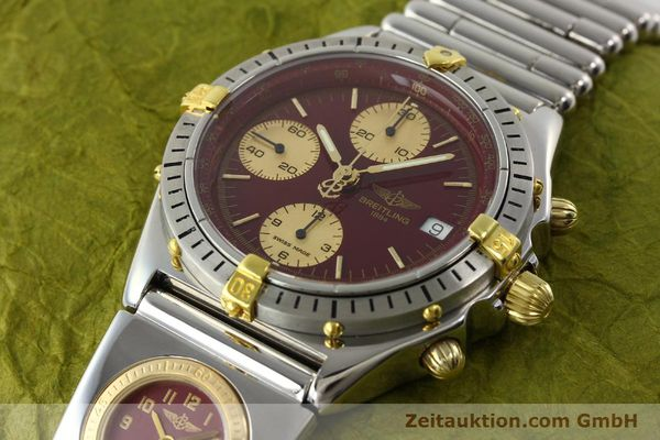 Used luxury watch Breitling Chronomat chronograph steel / gold automatic Kal. ETA 7750 Ref. B13048  | 141426 01