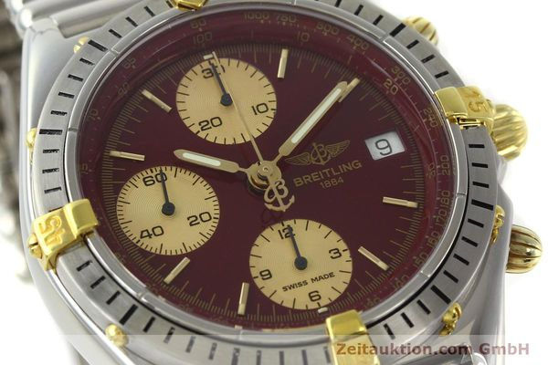 Used luxury watch Breitling Chronomat chronograph steel / gold automatic Kal. ETA 7750 Ref. B13048  | 141426 02