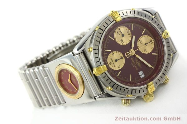 Used luxury watch Breitling Chronomat chronograph steel / gold automatic Kal. ETA 7750 Ref. B13048  | 141426 03