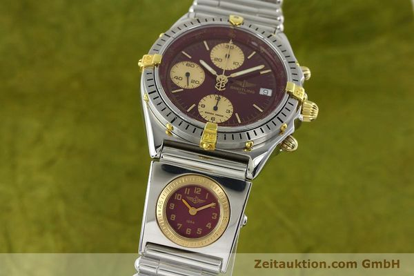 Used luxury watch Breitling Chronomat chronograph steel / gold automatic Kal. ETA 7750 Ref. B13048  | 141426 04