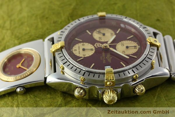 Used luxury watch Breitling Chronomat chronograph steel / gold automatic Kal. ETA 7750 Ref. B13048  | 141426 05