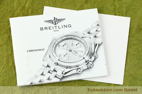 Used luxury watch Breitling Chronomat chronograph steel / gold automatic Kal. ETA 7750 Ref. B13048  | 141426 13