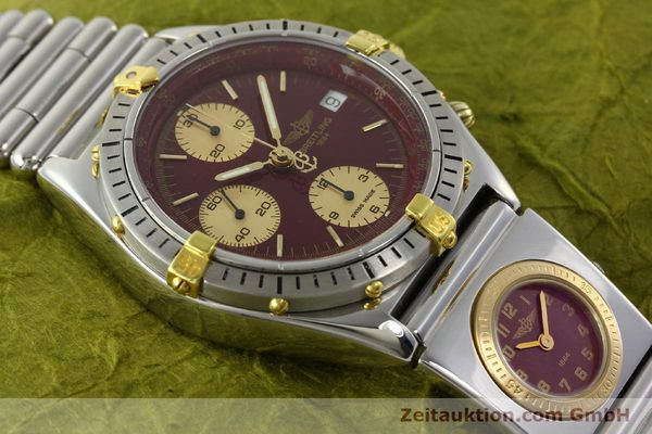 Used luxury watch Breitling Chronomat chronograph steel / gold automatic Kal. ETA 7750 Ref. B13048  | 141426 15