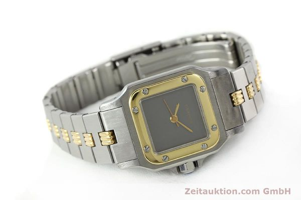 Used luxury watch Cartier Santos steel / gold automatic  | 141427 03