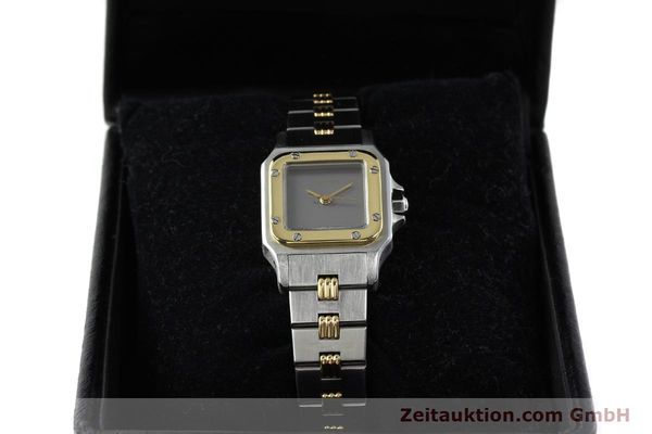 Used luxury watch Cartier Santos steel / gold automatic  | 141427 07