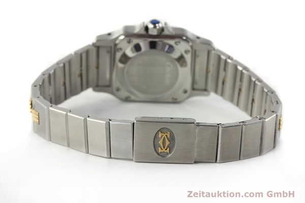 Used luxury watch Cartier Santos steel / gold automatic  | 141427 11