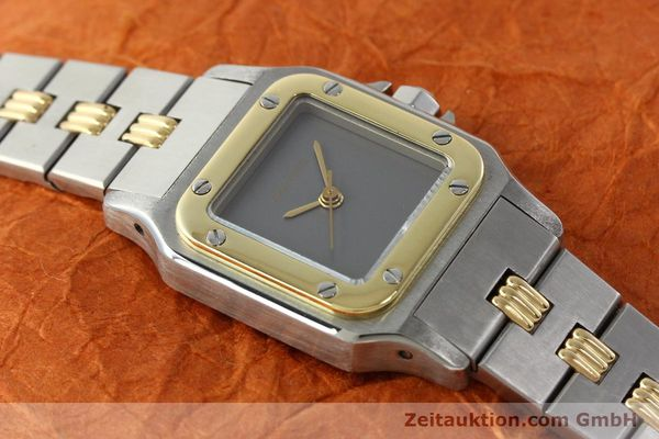 Used luxury watch Cartier Santos steel / gold automatic  | 141427 14