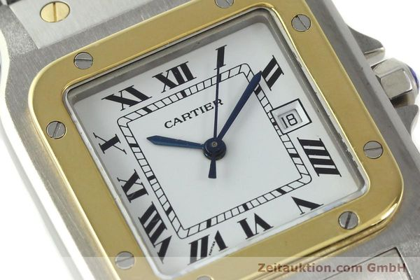 Used luxury watch Cartier Santos steel / gold automatic  | 141428 02