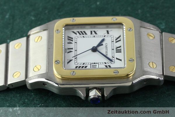 Used luxury watch Cartier Santos steel / gold automatic  | 141428 05