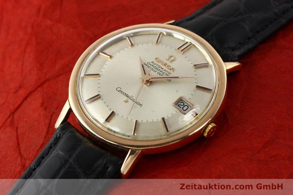 montre de luxe d occasion Omega Constellation or 18 ct automatique Kal. 561 Ref. 1683004  | 141430 01