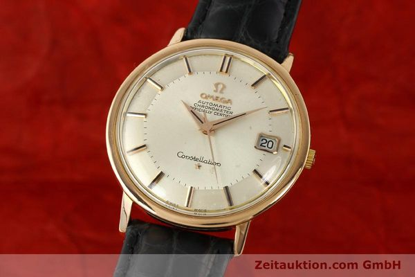 montre de luxe d occasion Omega Constellation or 18 ct automatique Kal. 561 Ref. 1683004  | 141430 04