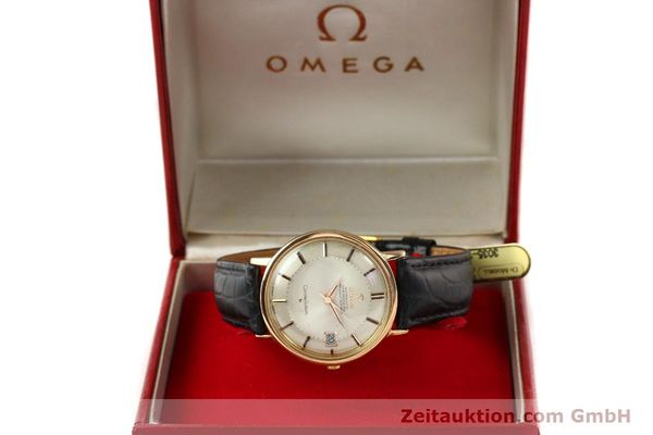 Used luxury watch Omega Constellation 18 ct gold automatic Kal. 561 Ref. 1683004  | 141430 07