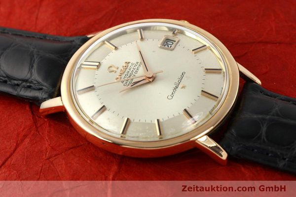 Used luxury watch Omega Constellation 18 ct gold automatic Kal. 561 Ref. 1683004  | 141430 12