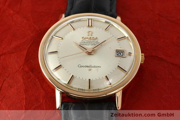 montre de luxe d occasion Omega Constellation or 18 ct automatique Kal. 561 Ref. 1683004  | 141430 13