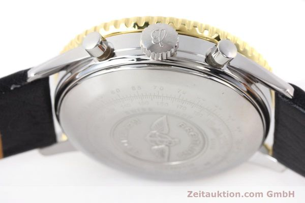 Used luxury watch Breitling Navitimer chronograph gilt steel automatic Kal. VAL 7750 Ref. 81610  | 141434 08