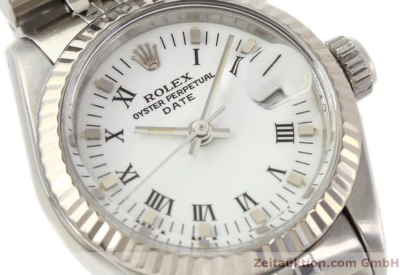 Used luxury watch Rolex Lady Date steel / gold automatic Kal. 2135 Ref. 69174  | 141436 02