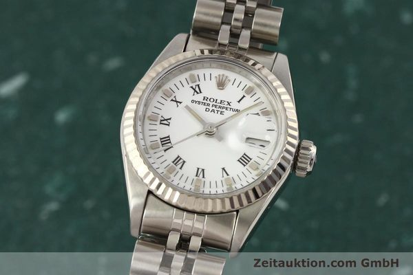 Used luxury watch Rolex Lady Date steel / gold automatic Kal. 2135 Ref. 69174  | 141436 04