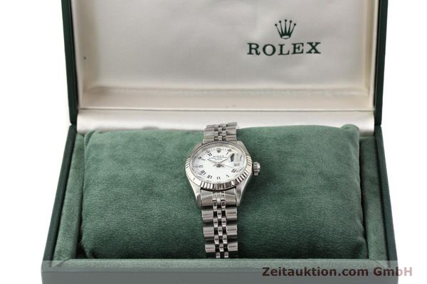 Used luxury watch Rolex Lady Date steel / gold automatic Kal. 2135 Ref. 69174  | 141436 07