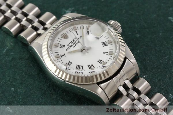 Used luxury watch Rolex Lady Date steel / gold automatic Kal. 2135 Ref. 69174  | 141436 15