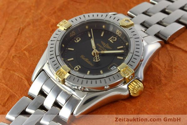 Used luxury watch Breitling Callistino gilt steel quartz Kal. B52 Ref. B52045.1  | 141437 01