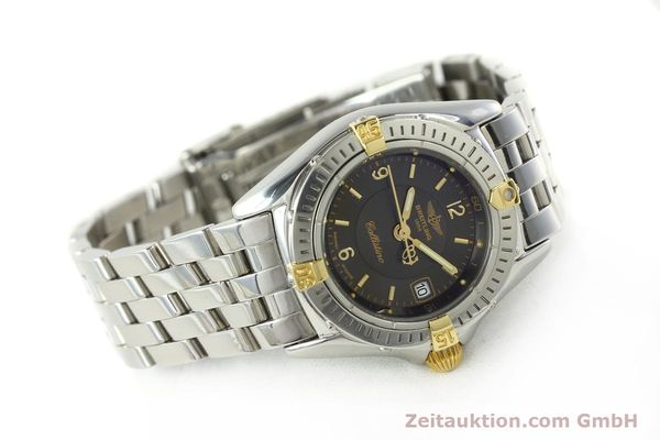 Used luxury watch Breitling Callistino gilt steel quartz Kal. B52 Ref. B52045.1  | 141437 03
