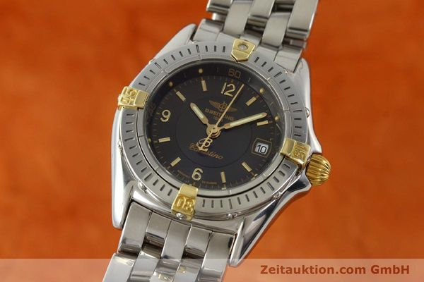 Used luxury watch Breitling Callistino gilt steel quartz Kal. B52 Ref. B52045.1  | 141437 04