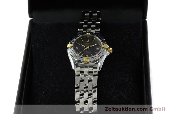 Used luxury watch Breitling Callistino gilt steel quartz Kal. B52 Ref. B52045.1  | 141437 07