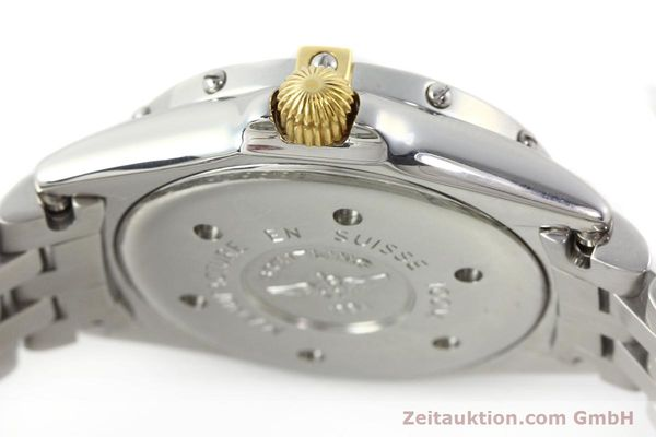 Used luxury watch Breitling Callistino gilt steel quartz Kal. B52 Ref. B52045.1  | 141437 10