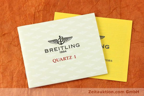 Used luxury watch Breitling Callistino gilt steel quartz Kal. B52 Ref. B52045.1  | 141437 12