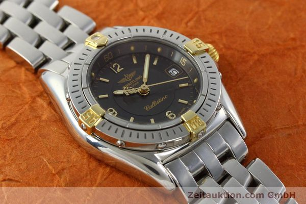 Used luxury watch Breitling Callistino gilt steel quartz Kal. B52 Ref. B52045.1  | 141437 15