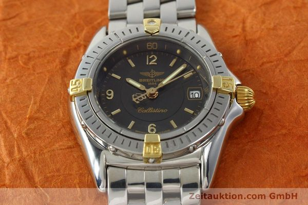 Used luxury watch Breitling Callistino gilt steel quartz Kal. B52 Ref. B52045.1  | 141437 16