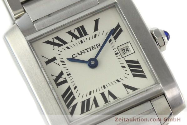 Used luxury watch Cartier Tank Francaise steel quartz Kal. 175N  | 141439 02